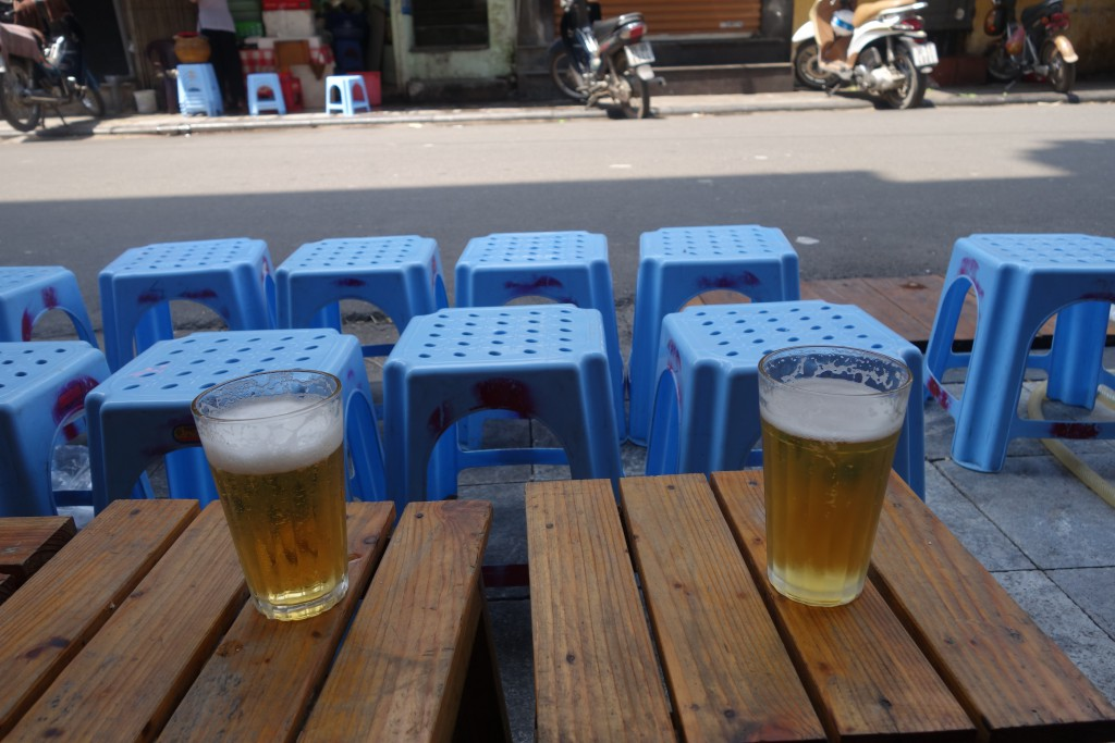 Fresh beer in Hanoi