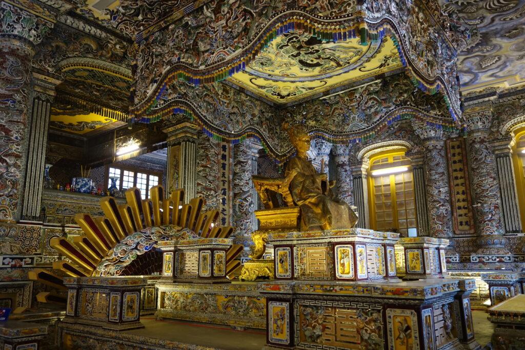 Khải Định's tomb in Huế.