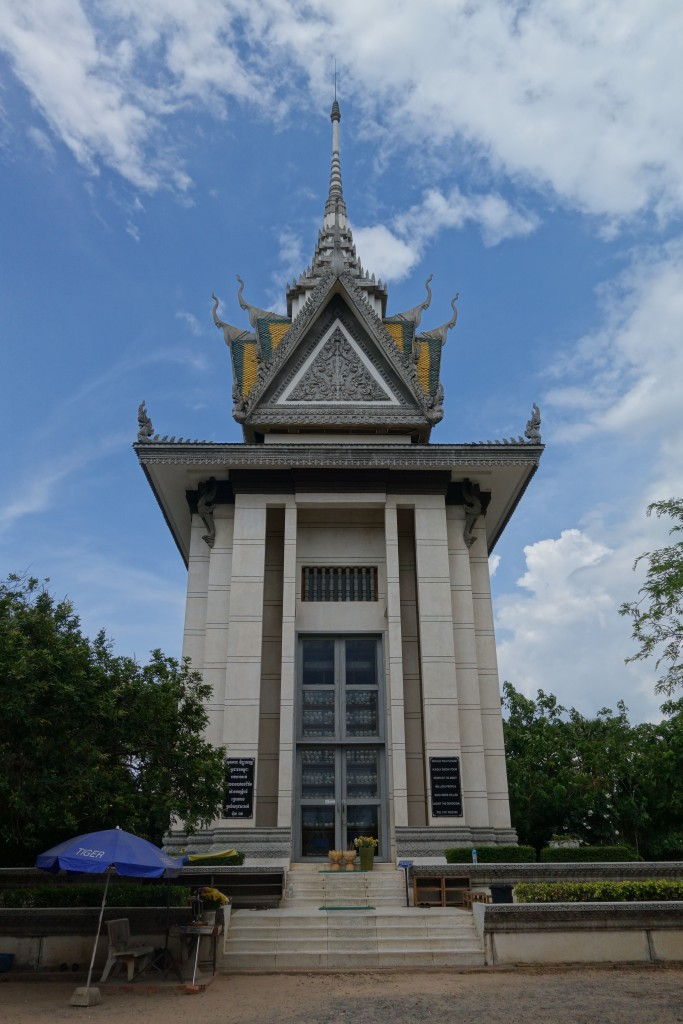The mausoleum.