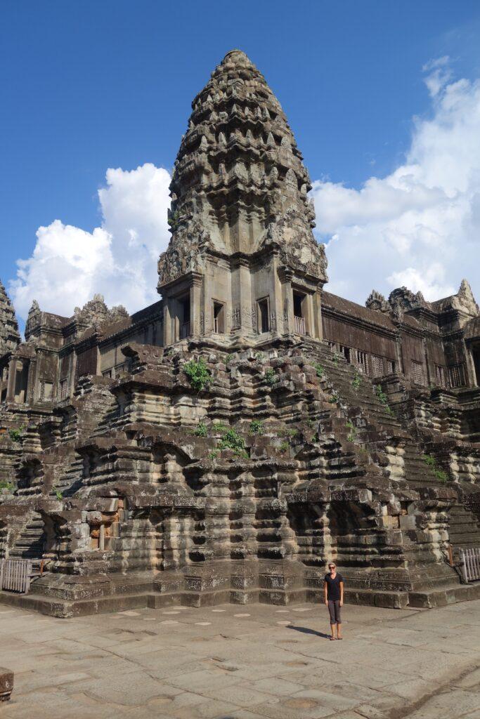 At Angkor Wat.