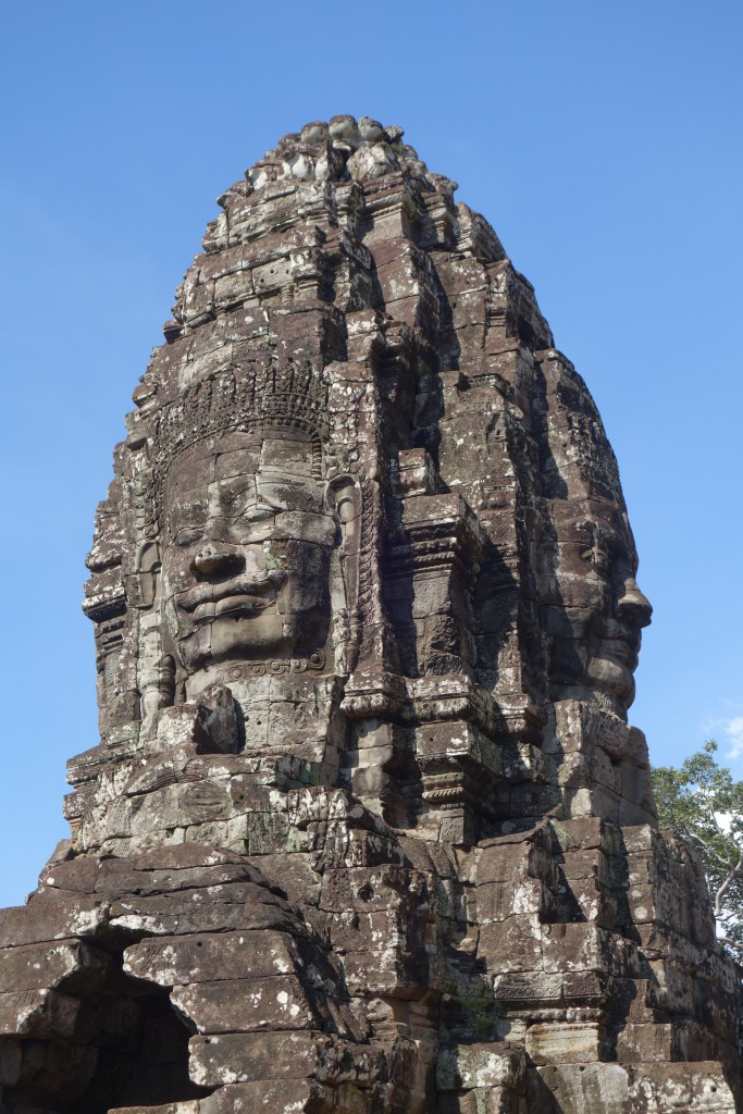 One of over 200 faces at Bayon.