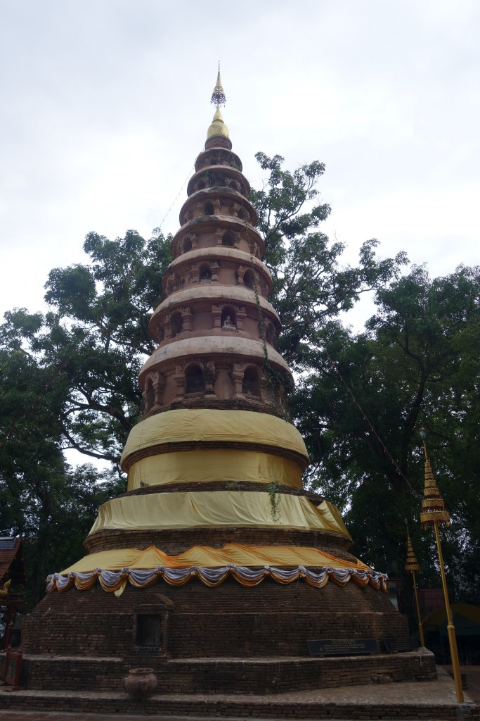 The central stupa of the Wat.