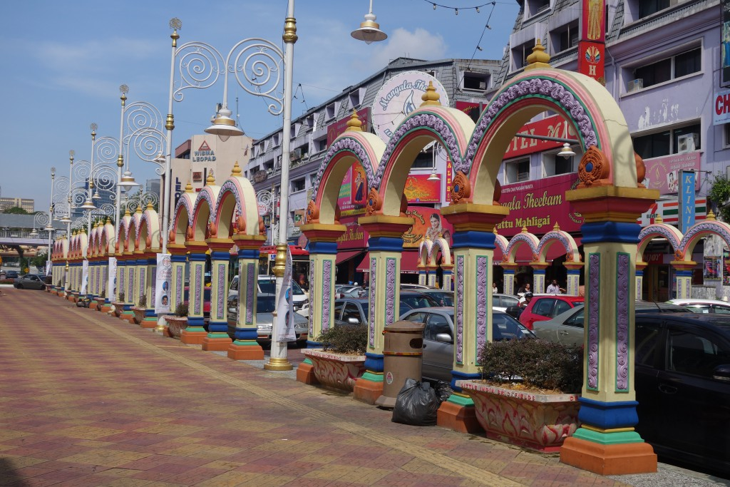 Little India in KL.