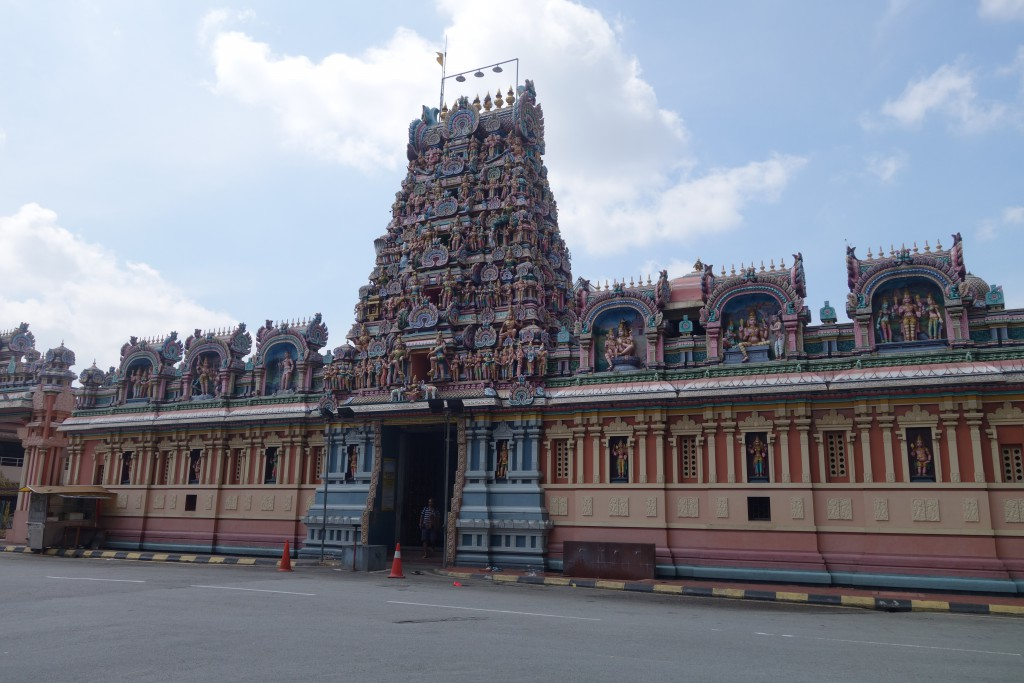 A Hindu temple in KL.