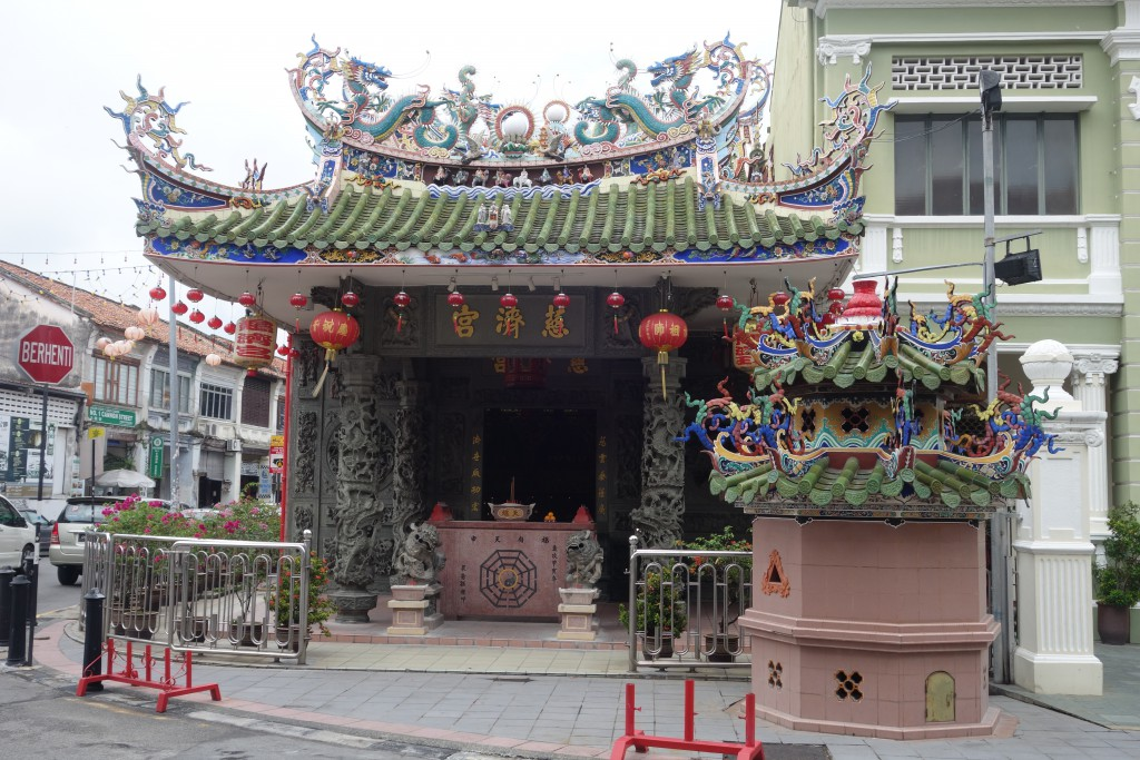 A Chinese temple in Penang.