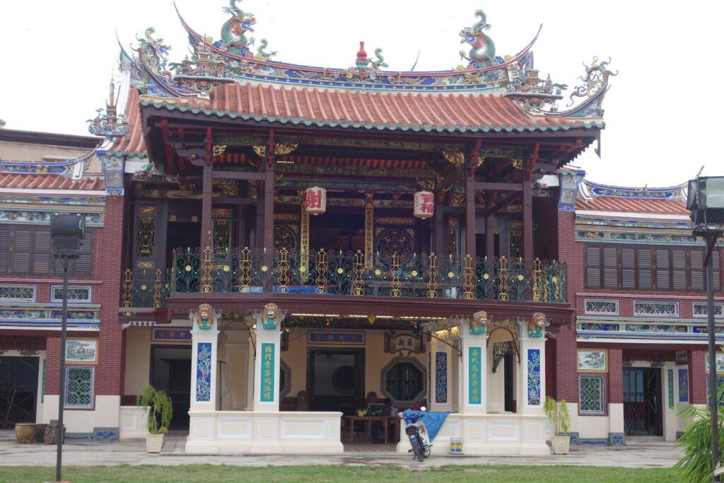 Khoo Kongsi Clan Home in Penang.