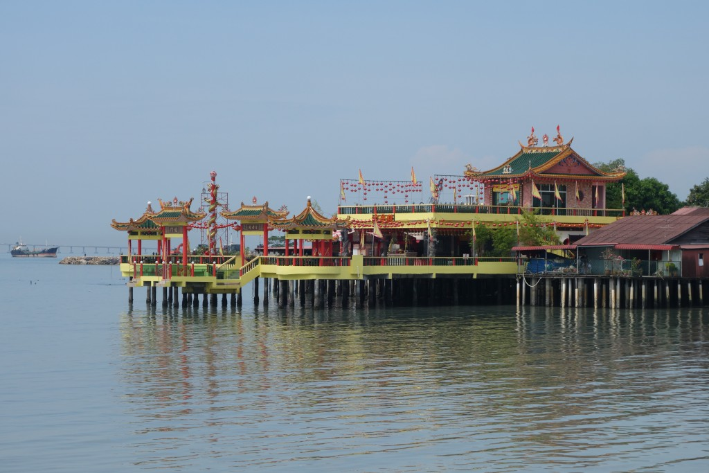 One of the clan jetties in Penang.