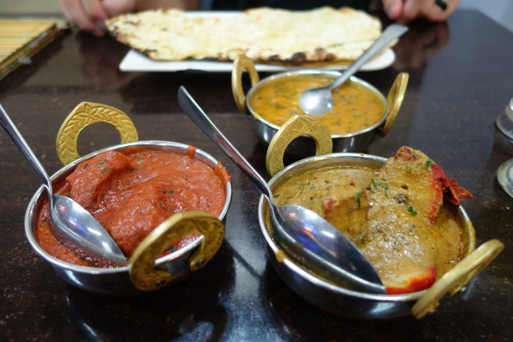 Amazing Indian curries!