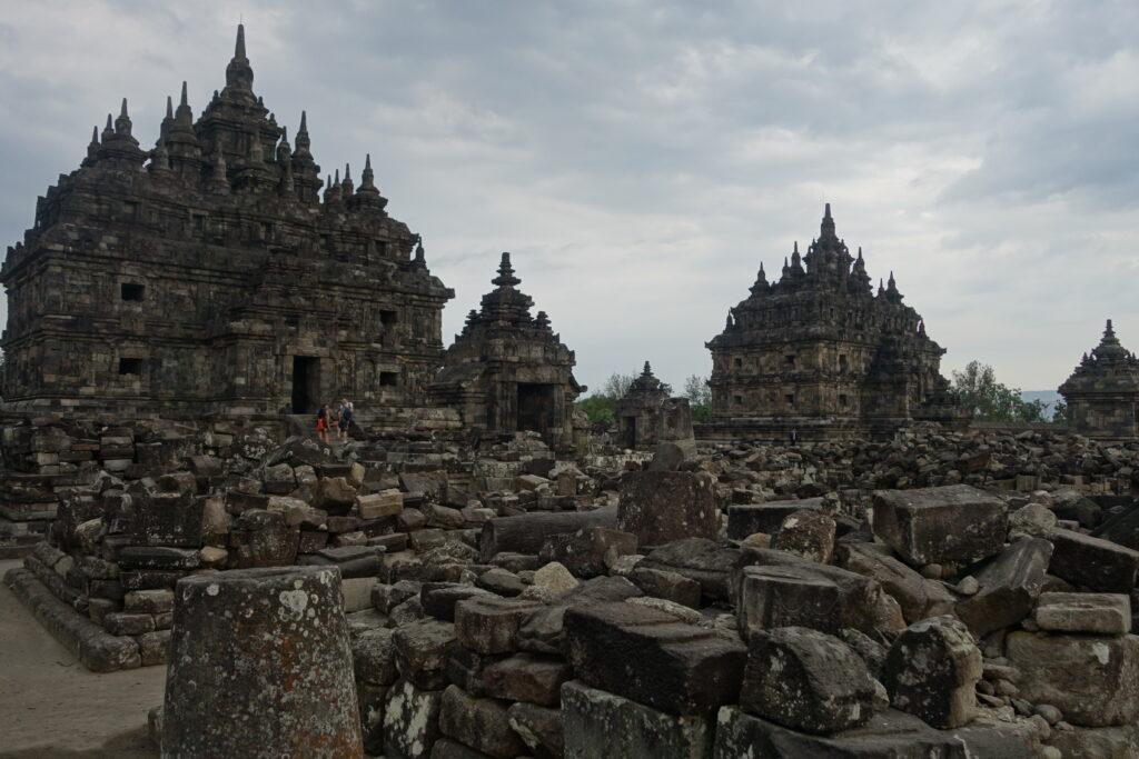 A temple near Prambanan.